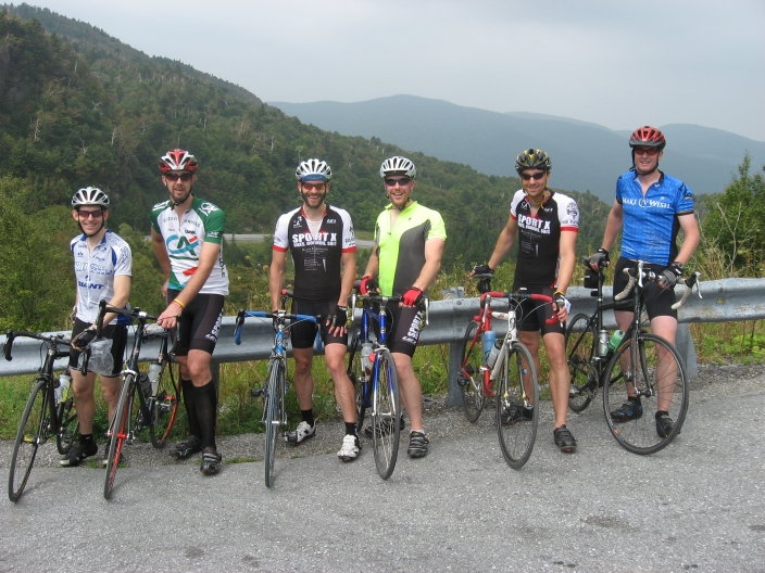 The Gang at the top of the Appalachian Gap